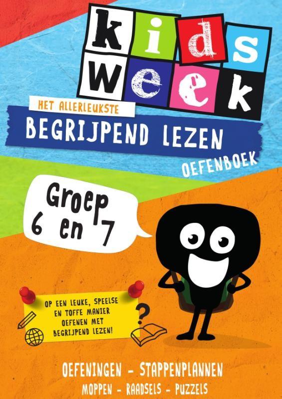 Kidsweek - Begrijpend lezen oefenboek - groep 8