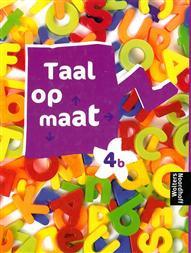 9789001147815 Taal op maat taal 4b leerlingenboek