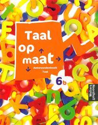 9789001148089 Taal op maat taal 6b antwoordenboek
