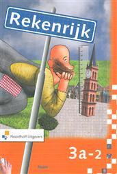 9789001306076 Rekenrijk 3e editie 3 a-2 werkboek