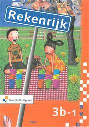 9789001306083 Rekenrijk 3e editie 3 b-1 werkboek