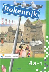 9789001306106 Rekenrijk 3e editie 4a-1 werkboek