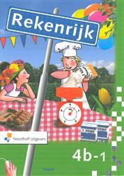 9789001767815 Rekenrijk 3e editie 4b-1 werkboek