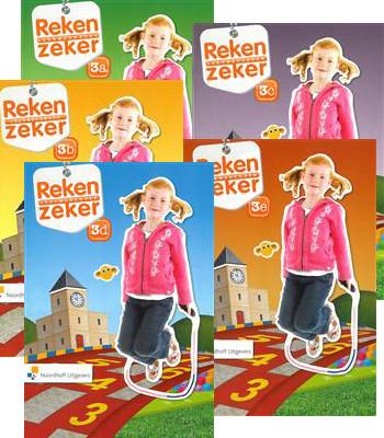 Reken Zeker leerwerkboeken 3a t/m 3e