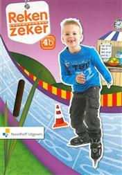 9789001783877 Reken Zeker 4b leerwerkboek