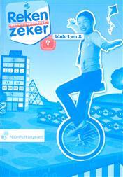 9789001784638 Reken Zeker 7 blok 1-2 antwoordenboek