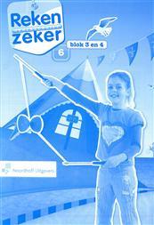 9789001784843 Reken Zeker 6 blok 3-4 rekenschrift