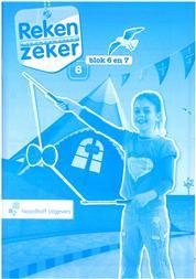 9789001784867 Reken Zeker 6 blok 6-7 rekenschrift