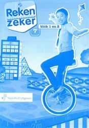9789001784874 Reken Zeker 7 blok 1-2 rekenschrift