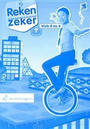 9789001784881 Reken Zeker 7 blok 3-4 rekenschrift