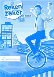 9789001784898 Reken Zeker 7 blok 5 rekenschrift