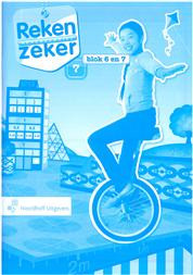 9789001784904 Reken Zeker 7 blok 6-7 rekenschrift