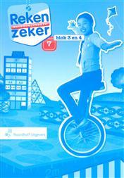 9789001805197 Reken Zeker 7 blok 3-4 antwoordenboek