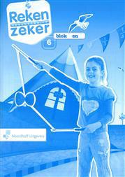 9789001805345 Reken Zeker 6 blok 8-9 rekenschrift