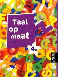 9789001851118 Taal op maat taal 4a leerlingenboek