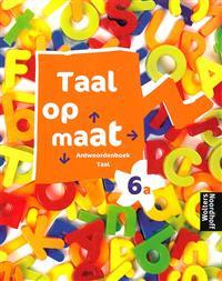 9789001851354 Taal op maat taal 6a antwoordenboek