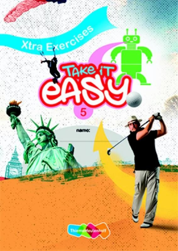Take it easy 5 Werkboek Xtra Exercises