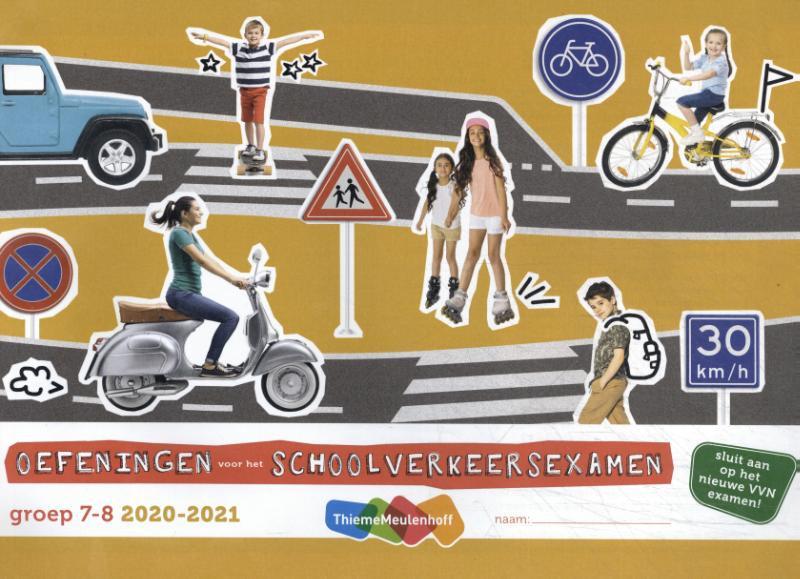 Oefeningen voor het schoolverkeersexamen 2020-2021