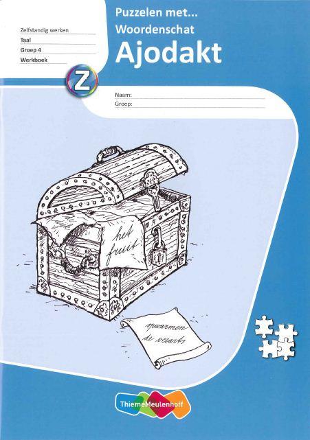 9789006627923 Puzzelen met woordenschat 4