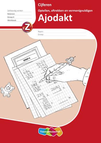 9789006635560 Cijferend optellen, aftrekken en vermenigvuldigen, werkboek
