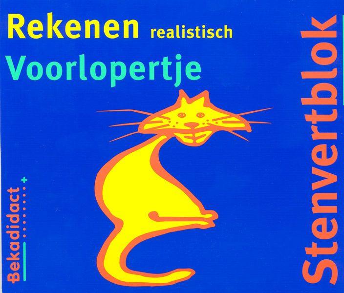 9789026200243 Stenvert Rekenen Realistisch voorlopertje