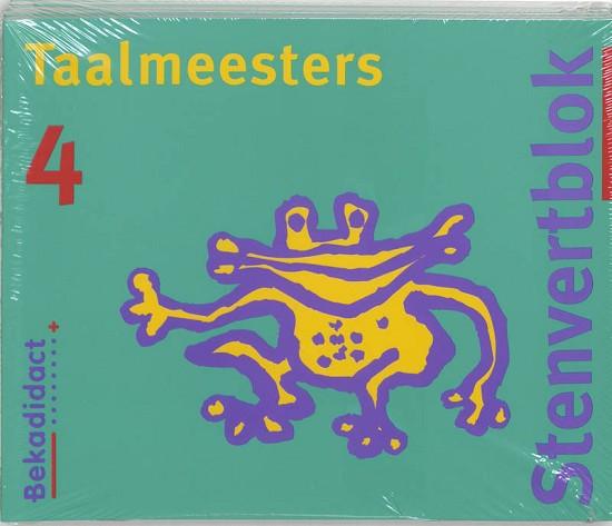 9789026202810 Stenvert Taalmeesters 4