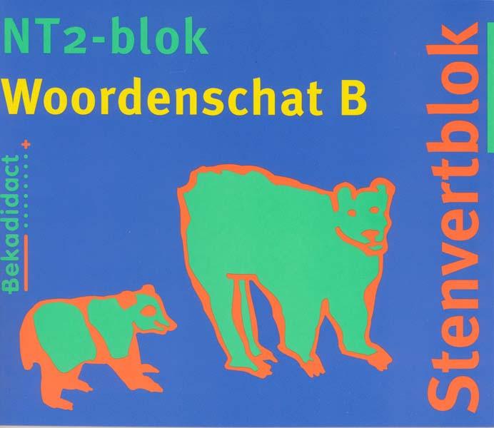 9789026224928 tenvert NT2-blok, woordenschat B