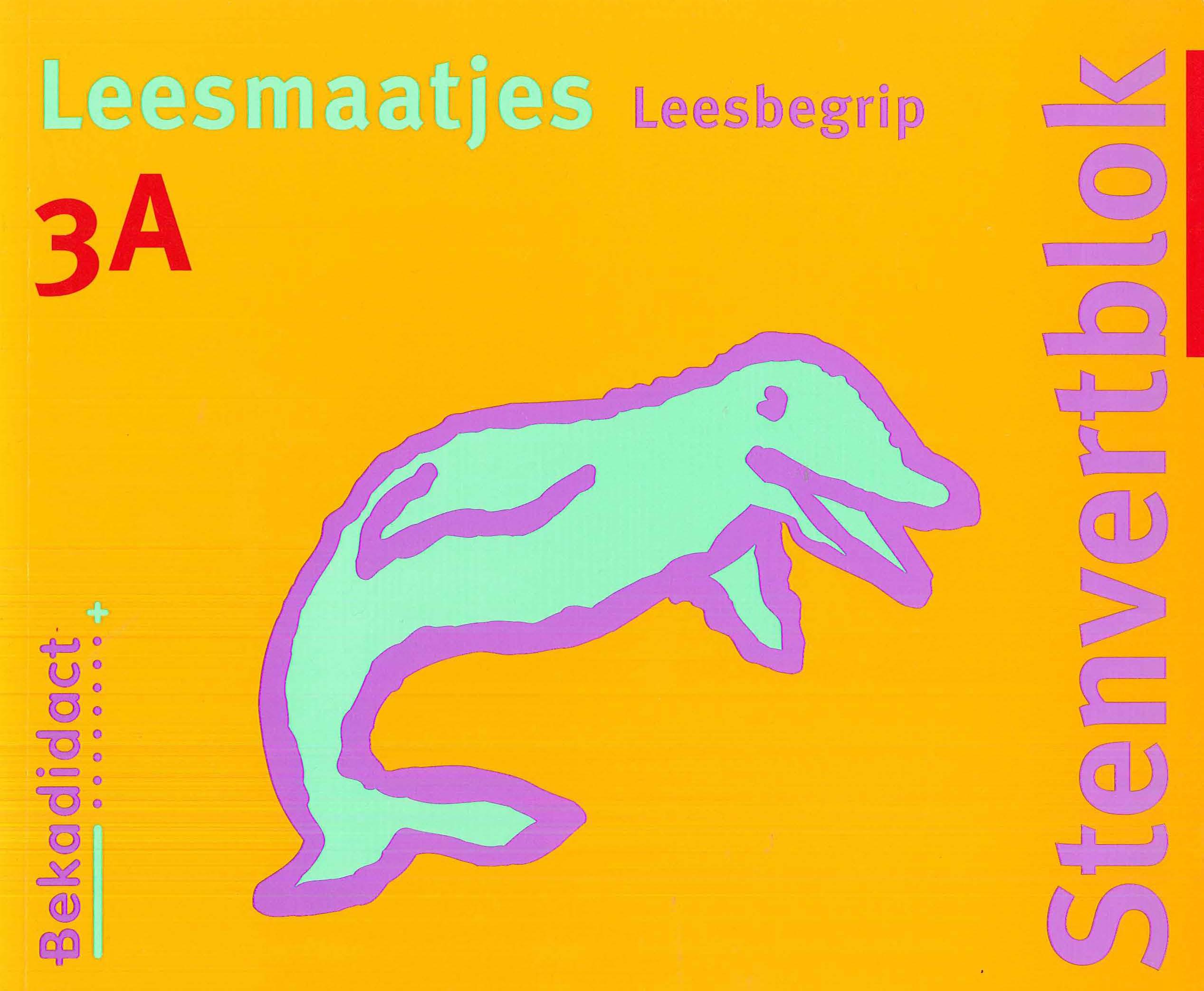Stenvert Leesmaatjes 3A  9789026241260