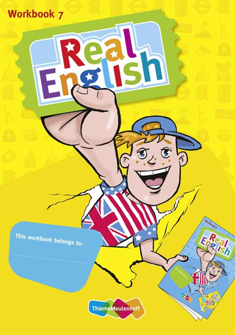 9789026243455 Real English 3e versie - Workbook 1 groep 7