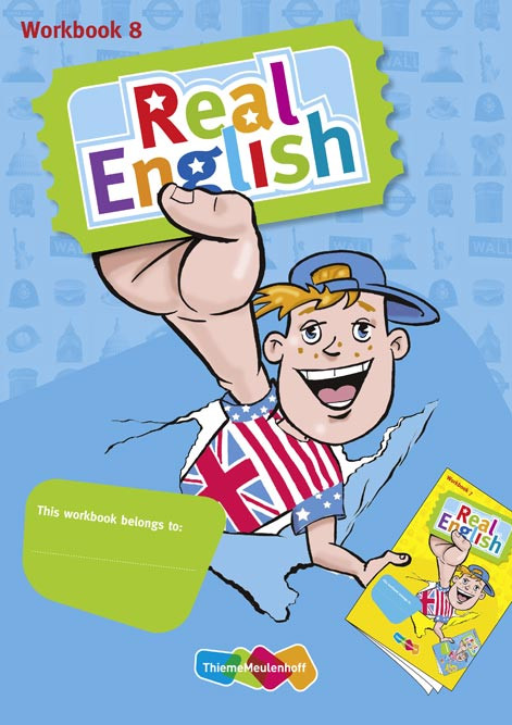 9789026243523 Real English 3e versie - Workbook 2 groep 8
