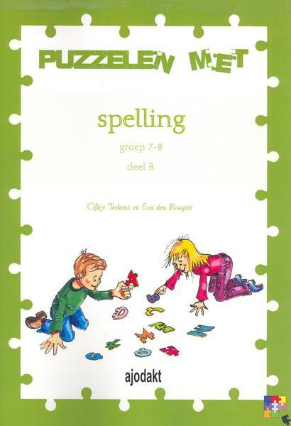 Ajodakt Puzzelen met spelling 7-8B