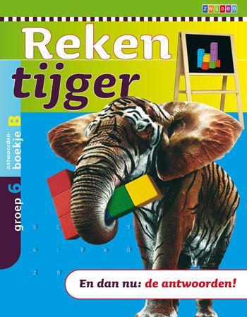9789027656278 Rekentijger 6b antwoordenboek