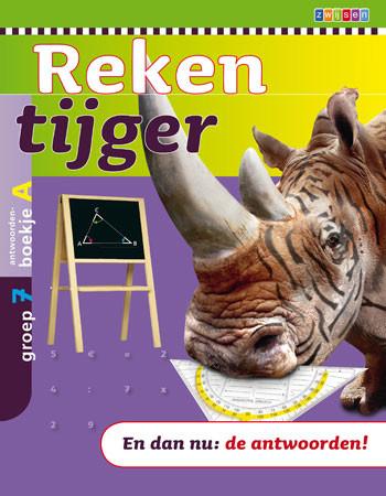 9789027656285 Rekentijger 7a antwoordenboek