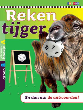 9789027656681 Rekentijger 8a antwoordenboek
