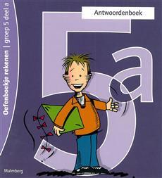 Oefenboekje rekenen 5a antwoordenboek
