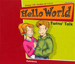 9789034535757 Hello world audio cd a groep 7/8