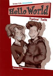 9789034535771 Hello world answerbook a groep 7/8