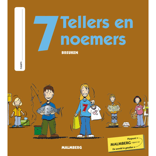 Tellers en noemers 2 groep 7 antwoordenboek