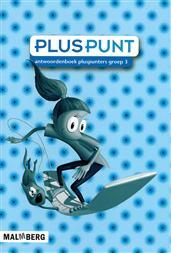 9789034553973 Pluspunt 3 - 3 antwoordenboek pluspunters