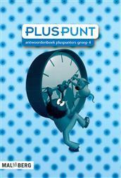 9789034554291 Pluspunt 3 - 4 antwoordenboek pluspunters
