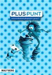 9789034554444 Pluspunt 3 - 5 antwoordenboek pluspunters