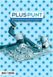 9789034554697 Pluspunt 3 - 7 antwoordenboek pluspunters