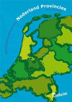 9789060522042 Aardrijkskundepuzzels Nederland provincies