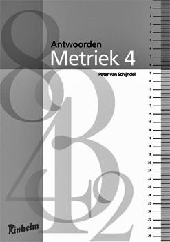 Metriek 4 antwoordenboek