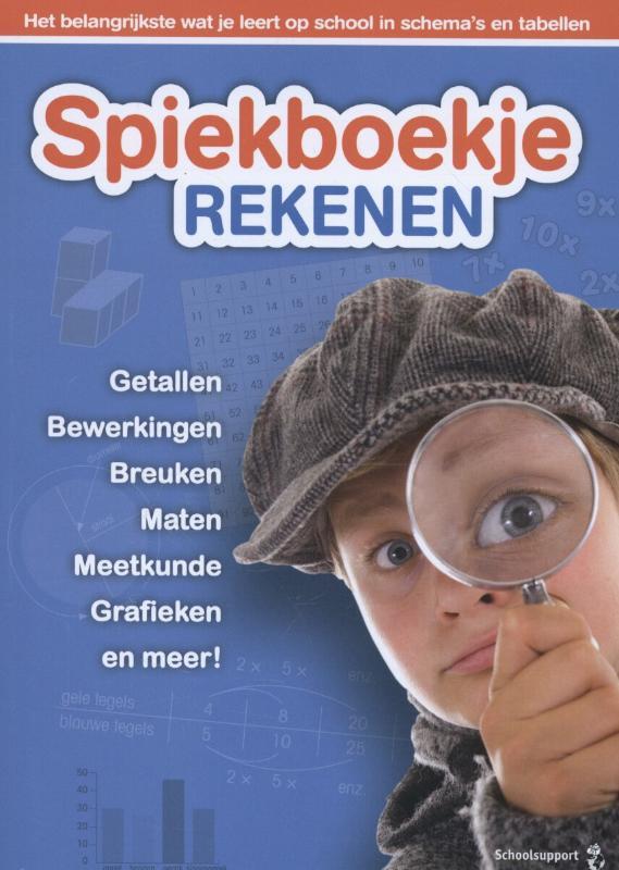9789461752529 Spiekboekje Rekenen