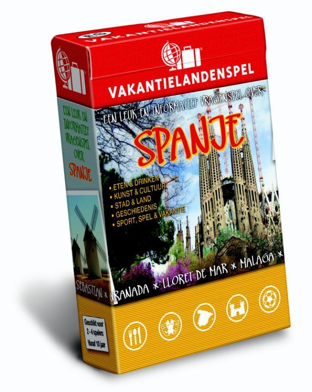 9789491263125-Vakantielandenspel-Vakantielandenspel-Spanje-Jasper-Baggerman