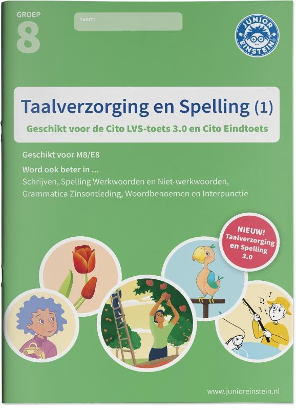 Taalverzorging en Spelling Cito Oefenboek 1