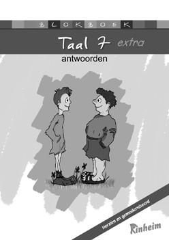 Blokboek Taal 7 extra (herzien) Antwoorden & Dictees