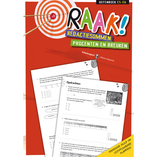 RAAK! Redactiesommen Procent/Breuken 5/6
