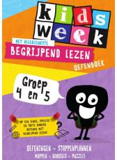Kidsweek - Begrijpend lezen oefenboek - groep 4&5